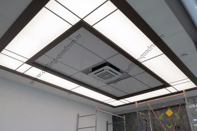 two level light ceiling 2